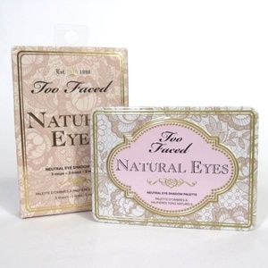 New Too Faced Natural Eyes Palette Nine Eye Shadow